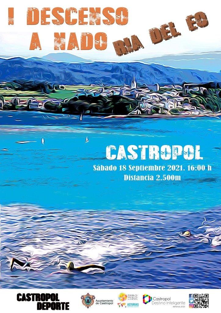 Descenso a Nado Ría del Eo el próximo sábado en Castropol