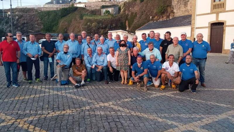 Triunfo del avilesino José Antonio García, en el Nacional de Pesca Mar Embarcación Fondeada Máster celebrado en Tapia