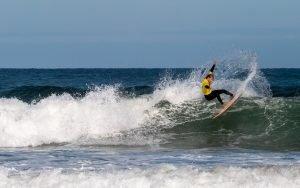 Triunfo de los canarios Lucía Machado y Luis Díaz en el Tapia Goanna Pro de Surf