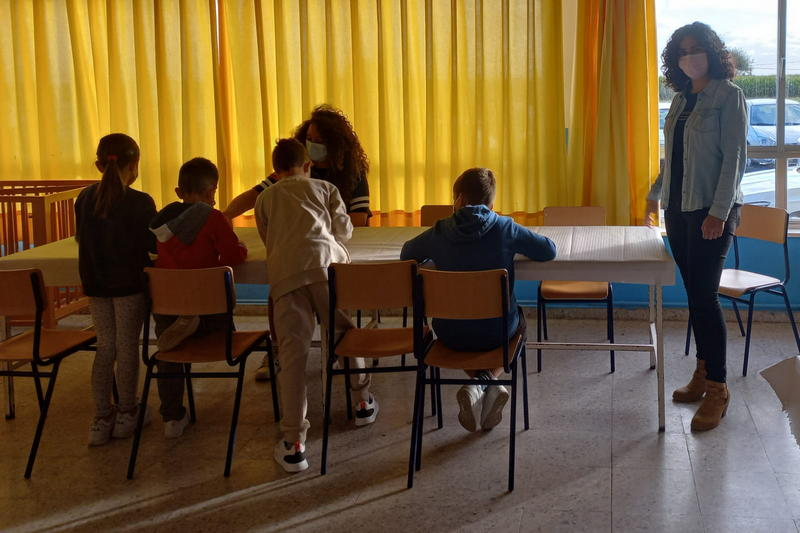 Comienza a funcionar el Programa Madrugadores en el colegio Ramón Muñoz (Luarca, Valdés)