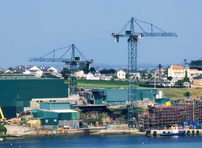 La Coordinadora Ecoloxista presentará alegaciones para que la ampliación del astillero de Figueras tenga la menor repercusión para los colindantes y para la ría