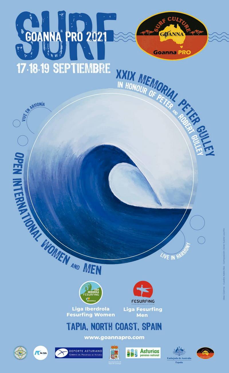 El Campeonato de Surf XXIX Memorial Peter Gulley de Tapia se traslada al fin de semana del 17 al 19 de Septiembre