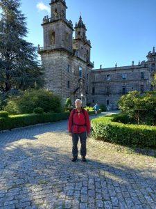 23 Componentes del Grupo de Montaña Peña Furada realizan el Camino de Santiago entre Orense y Santiago de Compostela