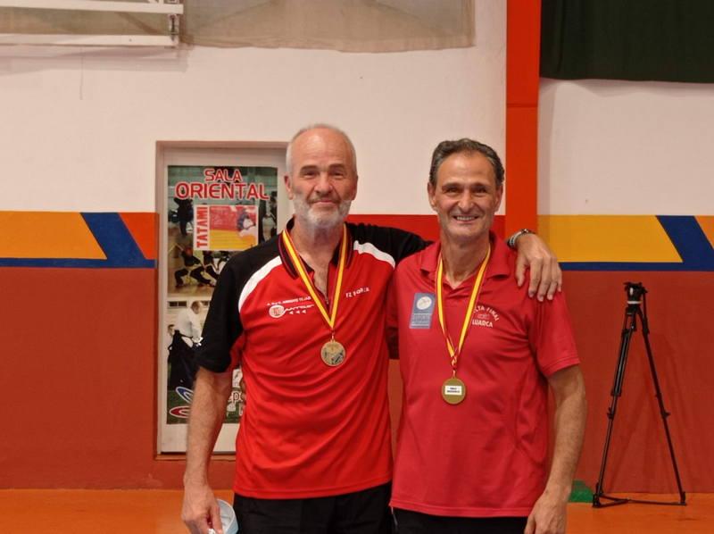Luis Paredano(Club Recta Final), vencedor en dobles junto al madrileño Gómez del Ranking Nacional de Bádminton de Ronda