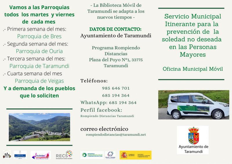 Taramundi estrena el Servicio de Prevención de la Soledad NO Deseada