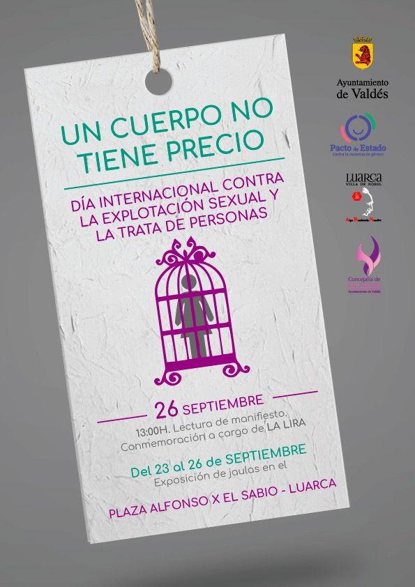 Valdés conmemora el Día Internacional contra la explotación sexual y la trata de personas