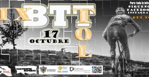 Abierta la inscripción para la IX Marcha BTT Tol del próximo 17 de Octubre