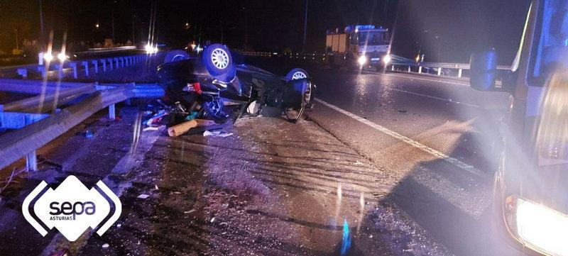Dos mujeres fallecidas en un accidente de Tráfico en Villaviciosa