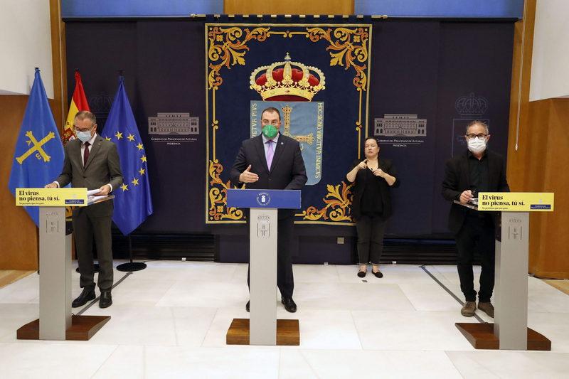 Asturias relaja las medidas de protección frente al coronavirus