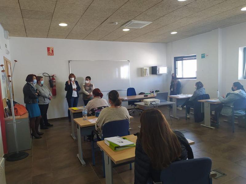 Arrancan los cuatro Talleres de Empleo de El Franco, con 40 trabajadores/as y 8 formadores/as