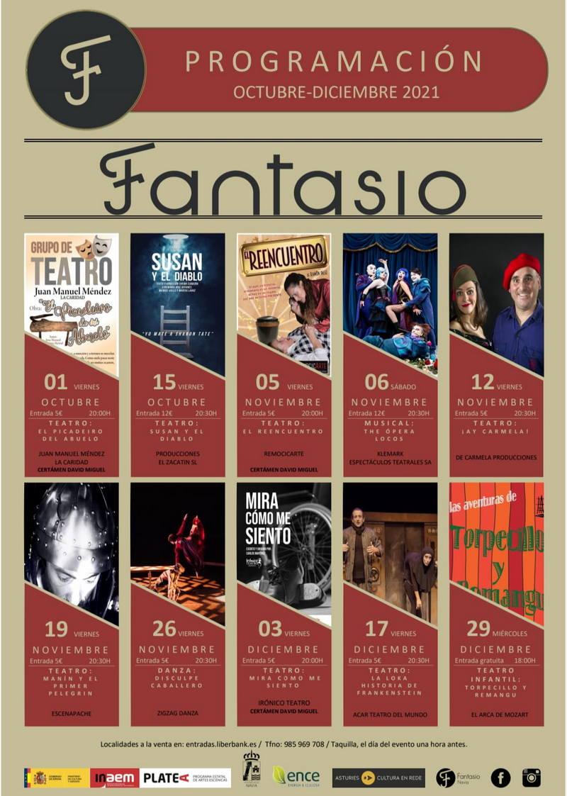 Teatro o Cine, propuestas culturales para el Otoño en Navia y Puerto de Vega