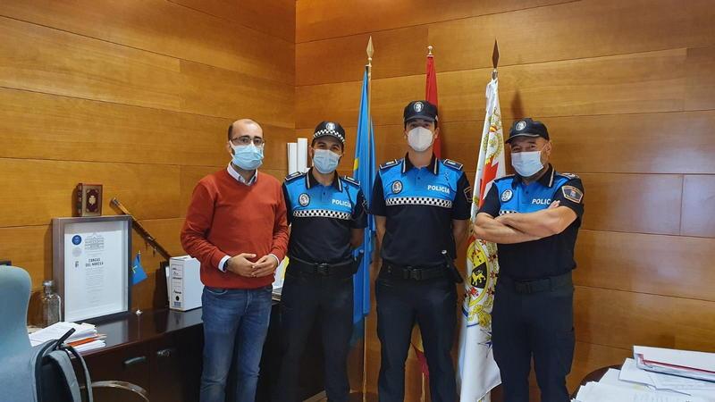 La plantilla de la Policía Local de Cangas del Narcea se amplía por primera vez en 25 años