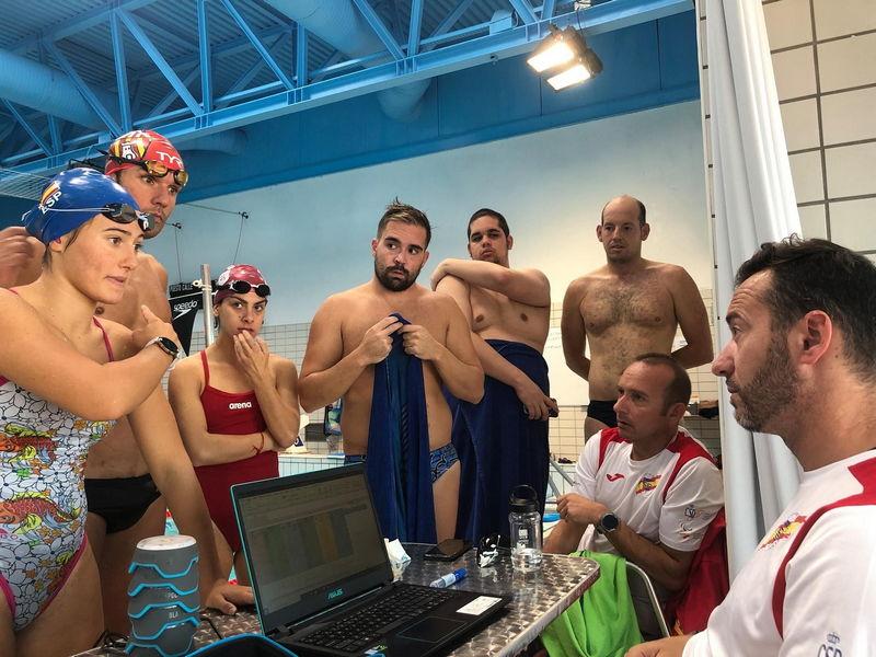 Finalizó la Concentración de Alejandro Suárez con el Equipo de Natación de la Federación Española de Deporte para Sordos