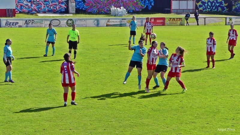 El Navia CF Femenino vence al Gigiafem y se coloca líder de Grupo