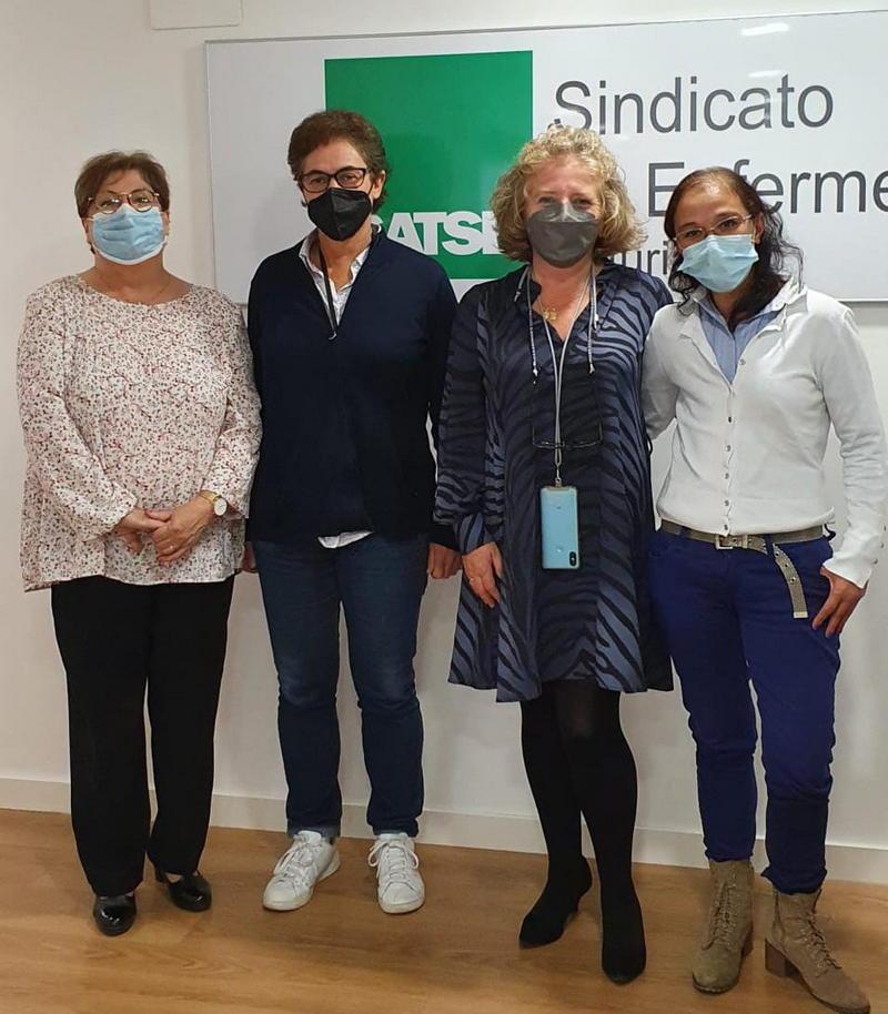 """""""Todos Somos Jarrio"""" se reúne con el Sindicato de Enfermería de Asturias"""