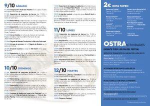 Continúa el VII Festival Somos la Ostra de Castropol