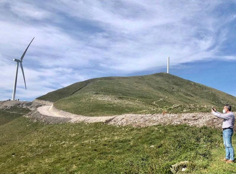 """IU pide al gobierno asturiano """"planificación"""" de los eólicos ante el """"boom"""" de este tipo de instalaciones"""